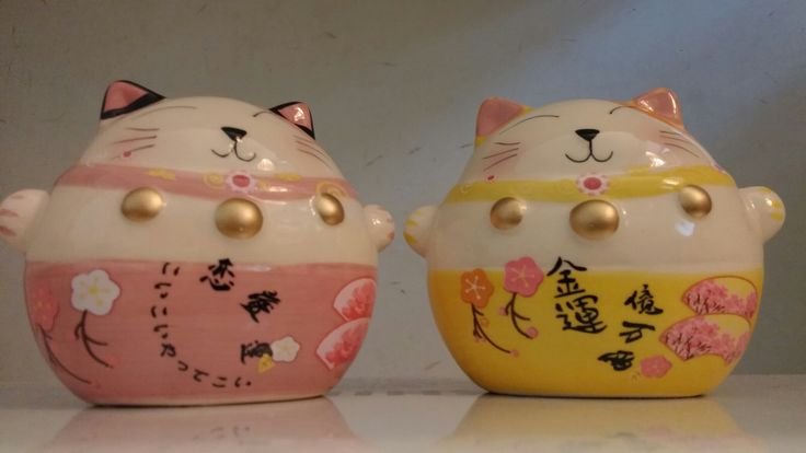 maneki-neko/lucky cat are available at Department Golden Pineapple Please PM/emails us for further info