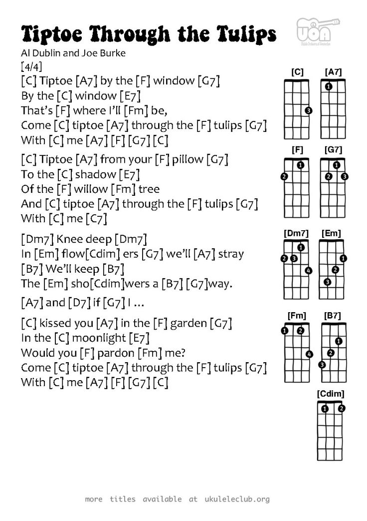 96 Best Ukulele Chordssongs Images On Pinterest Ukulele Chords