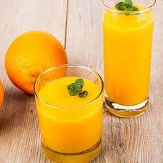 Orangenshake zum Abnehmen