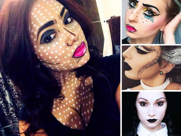 Ideias de Maquiagem de Halloween - http://coisasdamaria.com/ideias-de-maquiagem-de-halloween/