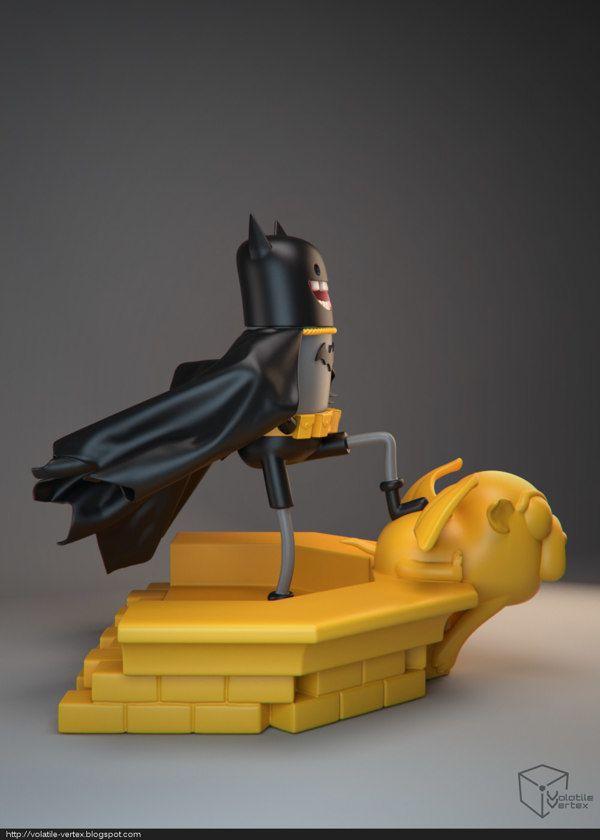 Volatile Vertex – Adventure Time Batman   Geek Art – Art, Design, Illustration & Pop Culture !   Art, Design, Illustration & Pop Culture !