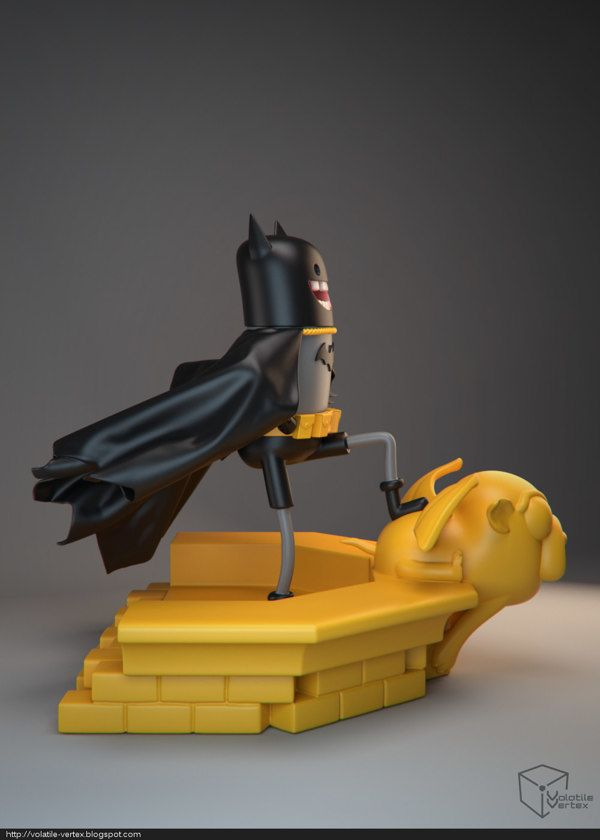 Volatile Vertex – Adventure Time Batman | Geek Art – Art, Design, Illustration & Pop Culture ! | Art, Design, Illustration & Pop Culture !