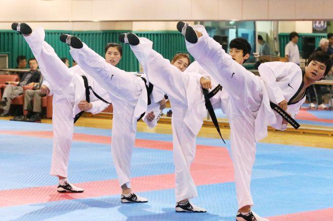 Korean Olympic Taekwondo Team