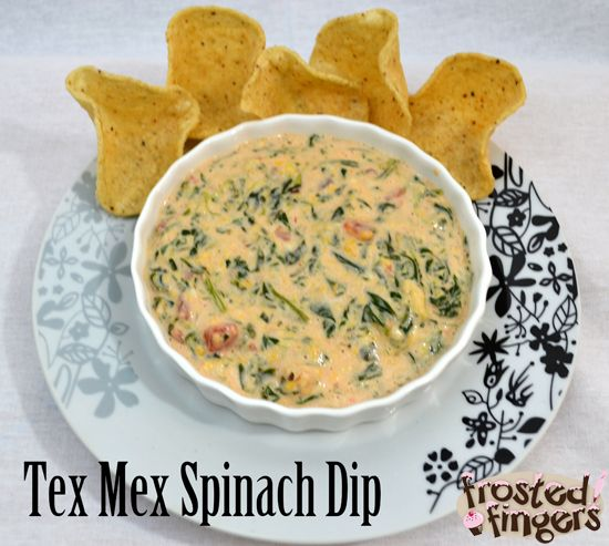 Slow Cooker Tex Mex Spinach Dip - YIAH SALSA DIP would be awesome in this recipe WITH No added sugar or preservatives of jar salsa
