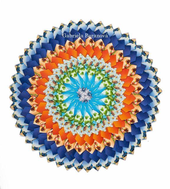 TeaBagFolding Mandala - Mandaly z čajových přebalů-hand made Gabčik Gabriela Beranova Czech Republic – Gabina Beranova – Webová alba Picasa
