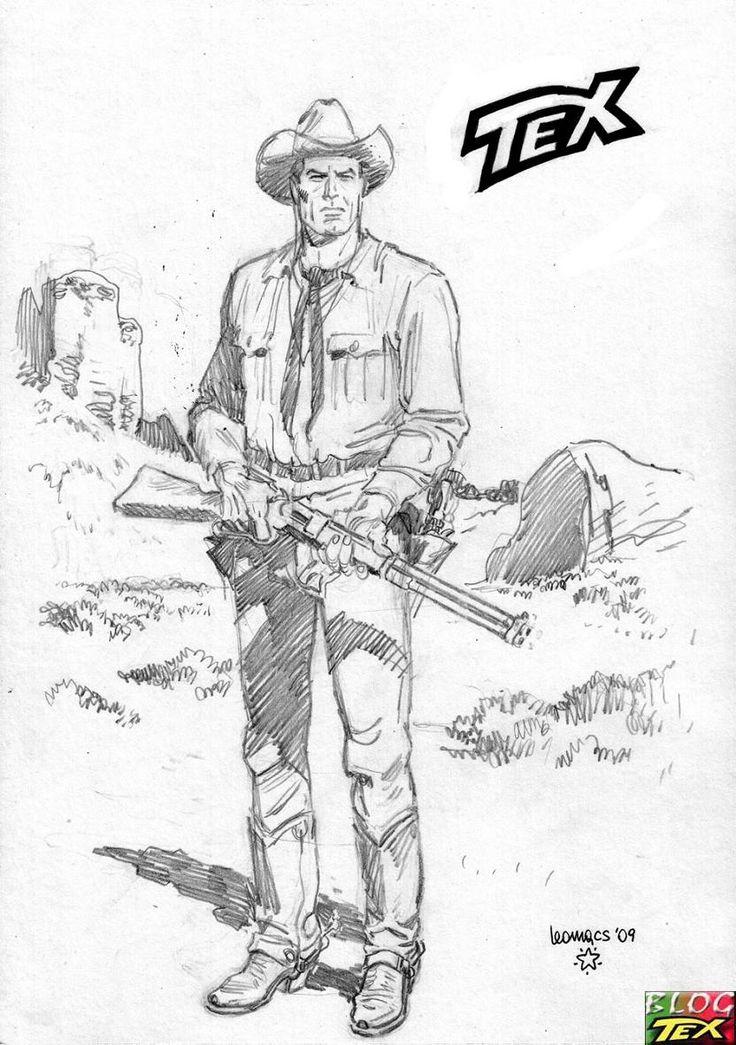 Tex Willer (Águia da Noite) on Pinterest | Fictional Characters ...