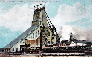 New Aberdeen Colliery, 1910, Glace Bay, Nova Scotia | Photographs And Memories, Cape Breton, Nova Scotia
