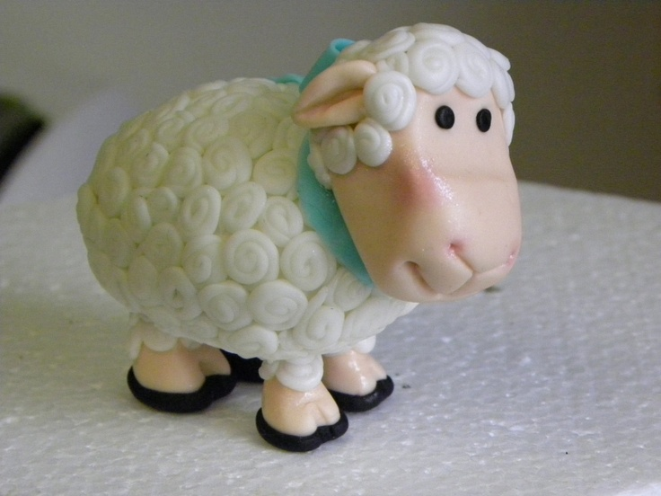 How To Make A Lamb Cake Topper