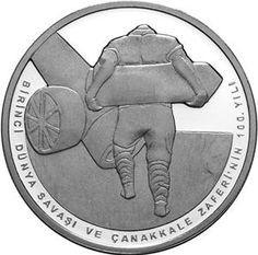 1. Dünya Savaşı ve Çanakkale Zaferi'nin 100. Yılı Hatıra Para Seti