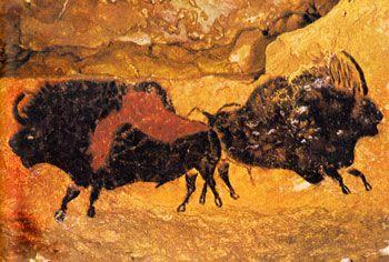 Peinture rupestre de la grotte de Lascaux - Paléolithique