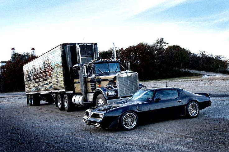 #Smoky_And_The_Bandit #Trans_Am and #18_Wheeler