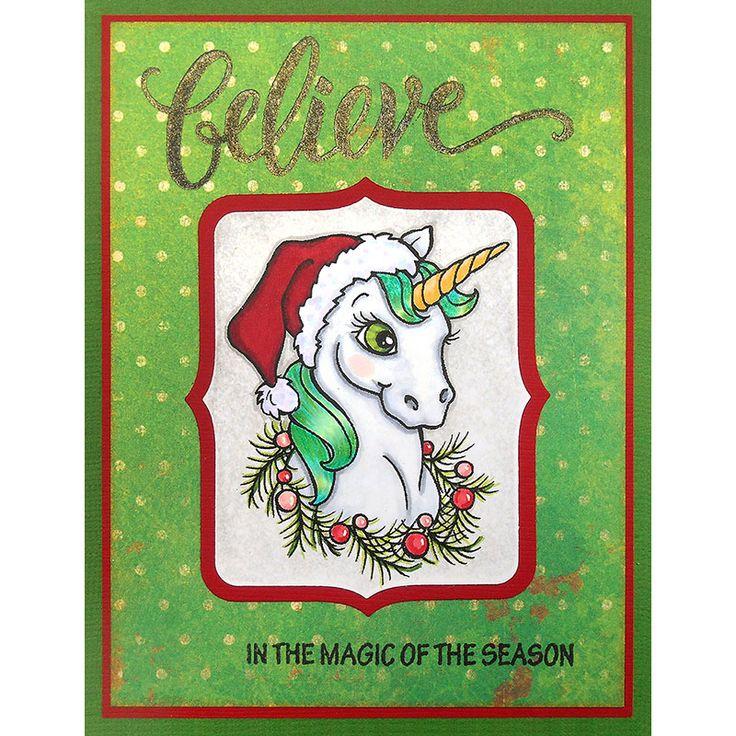 unicorn christmas  christmas cards unicorn christmas