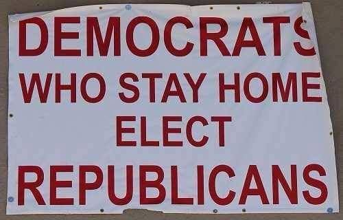 """VOTING MATTERS. Democrats who move right lose elections--there is no """"center."""""""