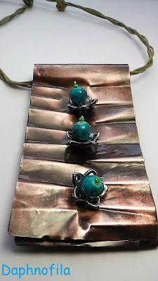 Τα daphnofila δημιουργούν: Τρία γαλάζια νούφαρα στα χάλκινα νερά της λίμνης! ...
