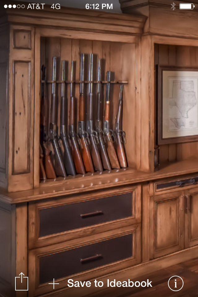 Guns Custom 12 Gun Cabinet Plans