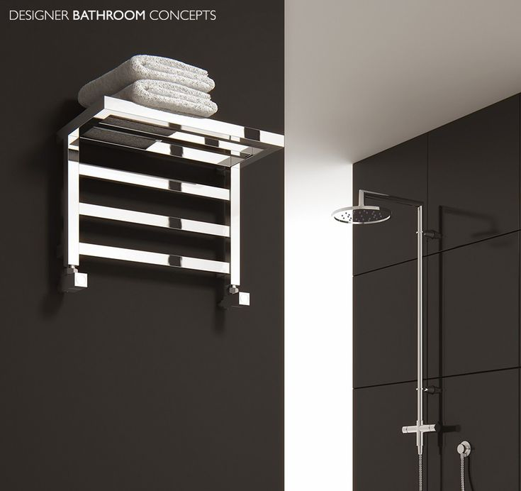 Merveilleux Elvina Designer Bathroom Heated Towel Rails From  DesignerBathroomConcepts.com
