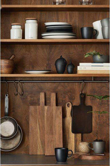 Porcelánový hrnek - Černá - HOME | H&M CZ 1