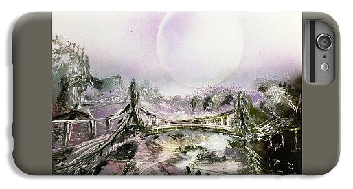 Bridge Of Spirits IPhone 6s Plus Case Printed with Fine Art spray painting image Bridge Of Spirits by Nandor Molnar (When you visit the Shop, change the orientation, background color and image size as you wish)