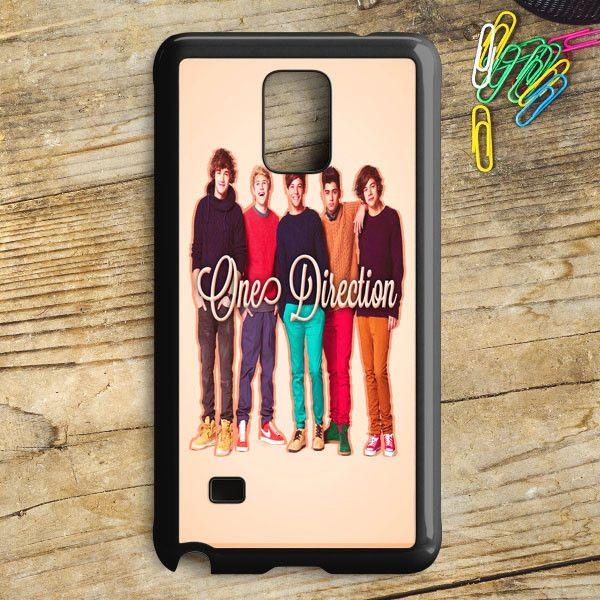 1D One Direction Logo Pink Flower Samsung Galaxy Note 5 Case | armeyla.com