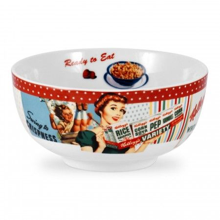 Portmeirion Vintage Kellogg's Cereal Bowls set of 4 -Portmeirion UK
