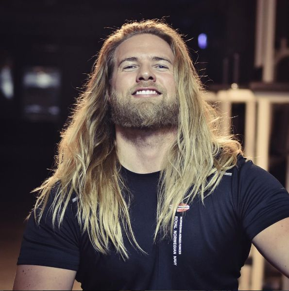 …this real-life Thor is sure to continue killing it on Instagram. | This Naval Officer Is An Instagram Sensation Due To His Dashing Looks And Luscious Locks