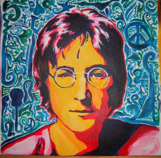 Imagine all the people Living life in peace. John Lennon did not dream too small. He imagined the earth as it was MEANT to be, because it just made sense that we were put here for a reason...he was a thinker.