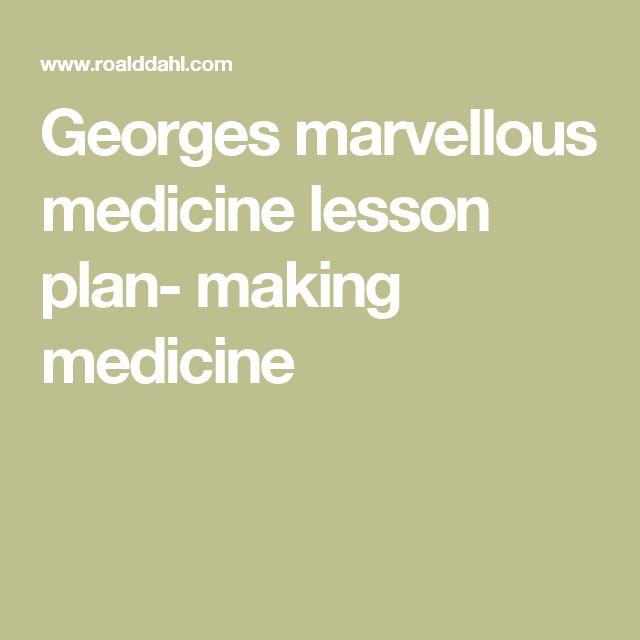 George's Marvelous Medicine - Roald Dahl Primary Resources
