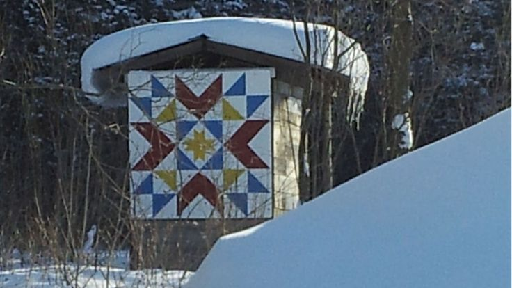 Art is everywhere in the County! -  Find out more about the Barn Quilt Trail ...