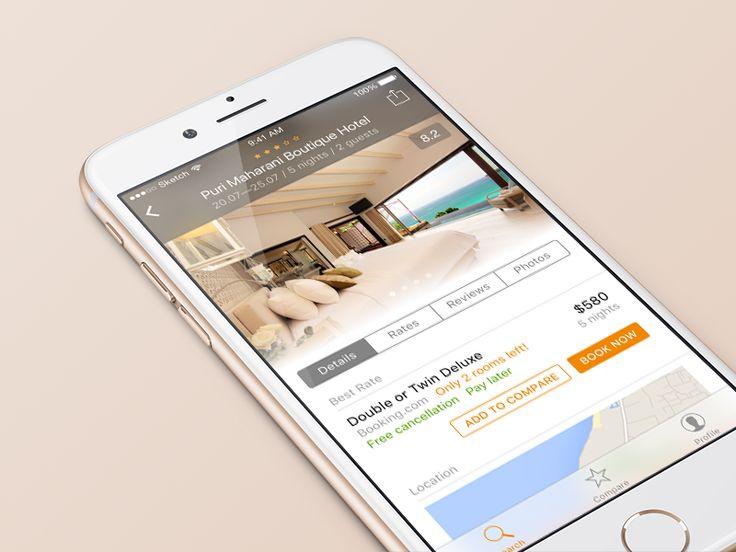 Hotellook redesign concept