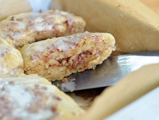 Gooey Cinnamon Biscuits - next time I'll use regular cinnamon instead ...