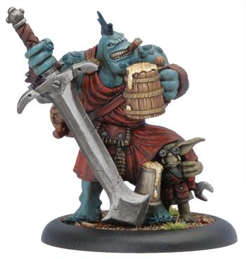 Kilt Lifter Trollkin Exclusive Model: Wargaming Miniatures, Trollblood Inspiration, Tabletop