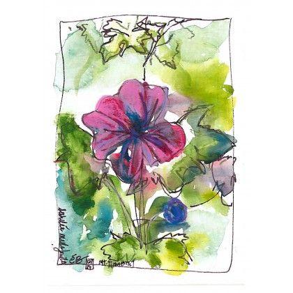 Achillée Mille-feuille 4 #watercolor