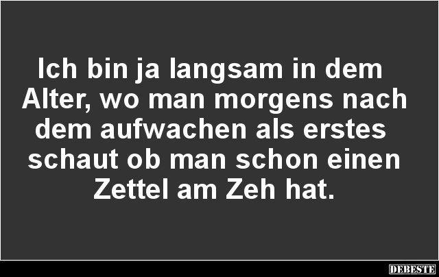 Zettel am Zeh? :)
