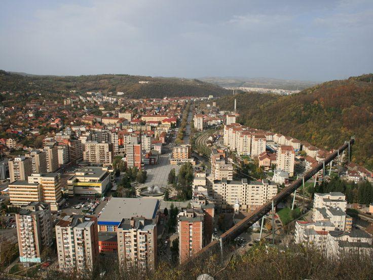 Orasul Resita, Romania.