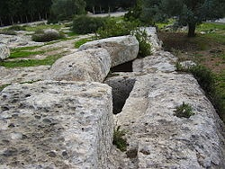 Tombs of the Maccabees, Modi'in, Israel.