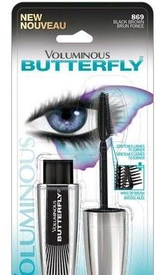 NEW L'Oreal Voluminous Butterfly Mascara.  Just purchased this a couple of weeks ago and love the way it makes my lashes look!  It separates them perfectly with no clumps, just beautiful volume.