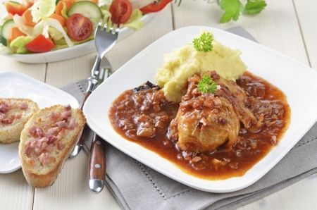 Lithuanian Stuffed Cabbage - Balandėliai                                                                                                                                                                                 More