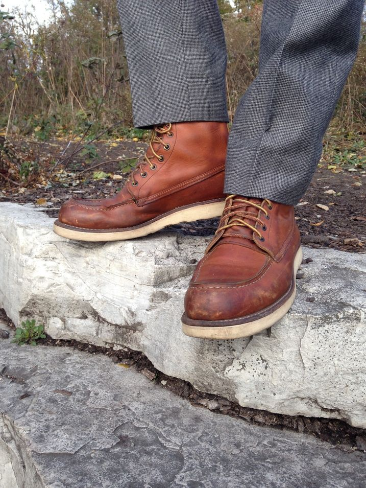 A Guide to Work Boots (featuring Red Wing 877)