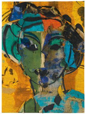 Manolo Valdés - Retrato - 2001