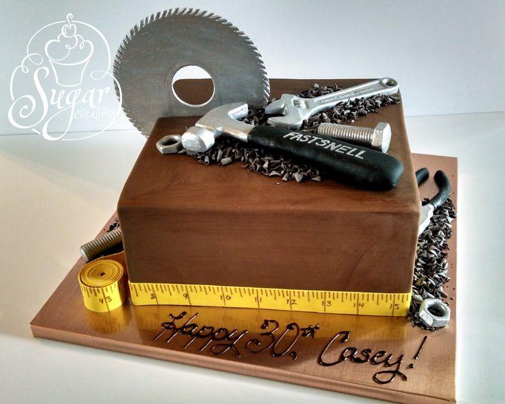 construction tools cake | Flickr - Photo Sharing!