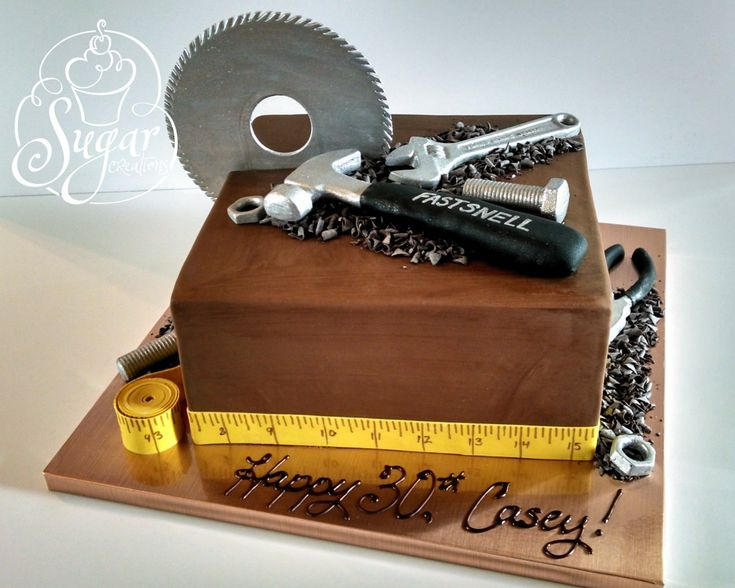 construction tools cake   Flickr - Photo Sharing!