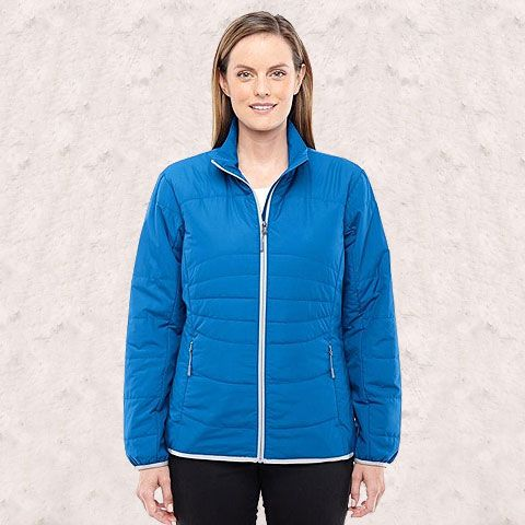 Ash City - North End-Ladies' Resolve Interactive Insulated Packable Jacket-78231