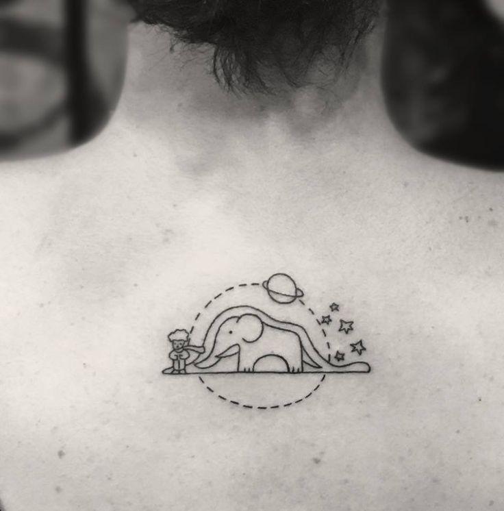 The Little Prince Tattoo by Melek Taştekin #tattoo #tattoos #tattooing…