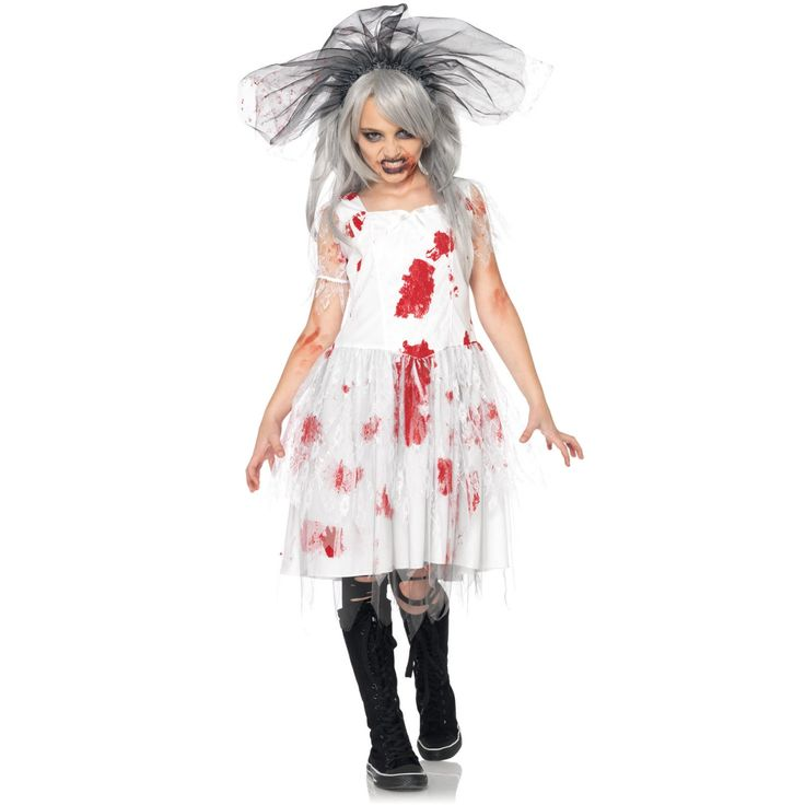 for girls every event is important to celebrate because they want and have to look pretty kids zombie halloween