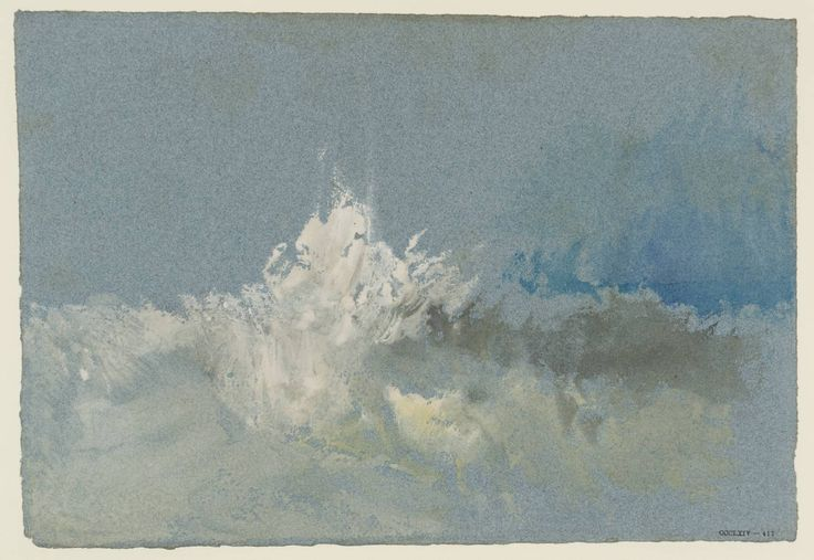 'The Breaking Wave', Joseph Mallord William Turner | Tate