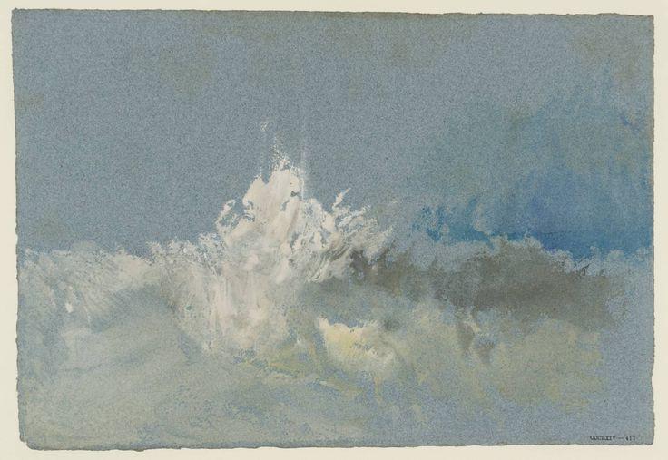 'The Breaking Wave', Joseph Mallord William Turner | Tate