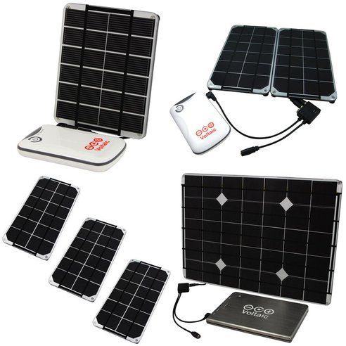 Build Your Own Solar Charger with Voltaic's DIY Kits