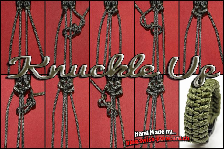Knuckle Up und Tutorial | Swiss Paracord