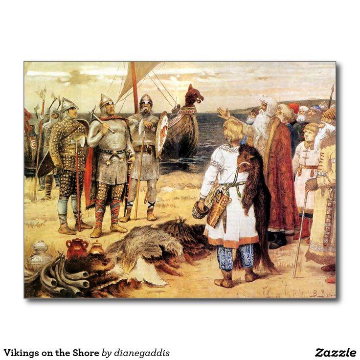 Vikings on the Shore
