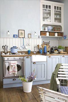 #shabby #pastel #kitchen